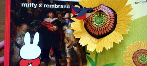在共讀中接觸藝術|miffy x rembrandt|荷蘭國立博物館發行的米菲兔與大師繪本