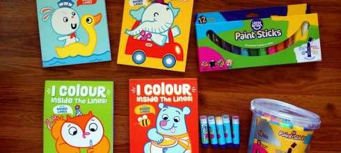 學前塗鴉有助學齡寫字與專注力|I Colour Inside the lines! 極少見的彩色凸框著色書