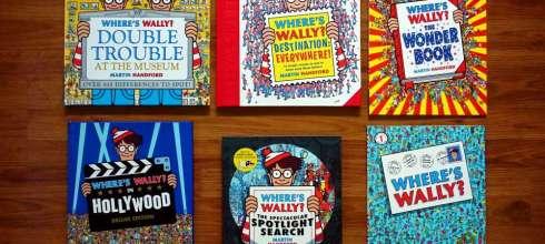 地表最強與玩法最多 Where's Wally?找找書大集合 培養專注力,受挫力與觀察力(上篇)
