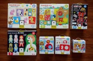 可愛繪本風拼圖: 美國Banana Panda|超大地板拼圖,配對遊戲拼圖,初階拼圖(引導經驗分享)