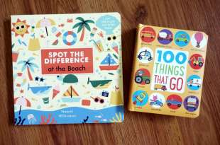 First 100 Things That Go車車大集合|Spot the Difference: At the Beach觀察翻翻書