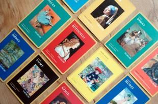孩子還小也要先買起來|Show Me the Monet卡牌遊戲|藝術桌遊