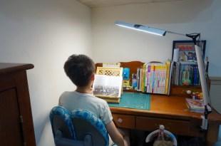同大爺的閱讀燈|我們選 MAGIC 學習型雙臂LED護眼臂燈,大面積光源專為閱讀而設計