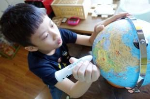 忍不住又入手的教具|台灣製造SkyGlobe 10吋點讀筆版中英發音地球儀