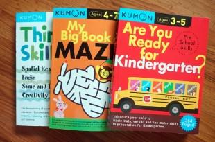 適合3-7y|Kumon功文教材遊戲合訂本|邏輯,空間推理,創造力,分類配對