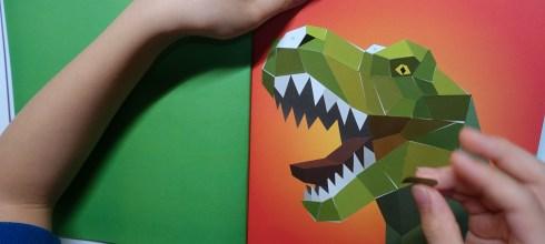 3合1動物數字貼紙新書|Paint by Sticker Kids:Dinosaurs,拼圖、專注力、順序概念全搞定