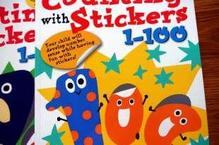 Kumon功文:Counting with Stickers1-100 數字貼紙書|My Book of Mazes走迷宮遊戲書
