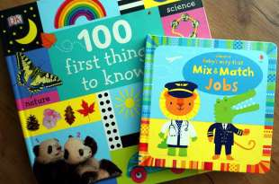引導孩子的上下空間概念Baby Very First Mix and Match Jobs|100 First Things to Know