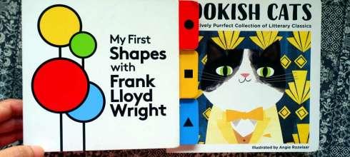親子共讀:美感教育書單上篇 Bookish Cats 建築大師玩形狀,安迪沃荷的顏色世界