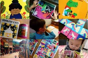 [揪團]5月書團:美國Evan Moor分齡遊戲書,藝術童書,硬頁書,Mudpuppy新品桌遊拼圖