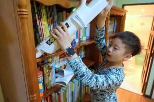 高CP值家電|輕量1.6公斤手不酸|日本IRIS 偵測灰塵無線二用吸塵器 和 大拍除蟎機3.5