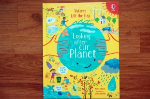 最經典的兒童科普百科翻翻書|Lift the Flap Looking after our planet