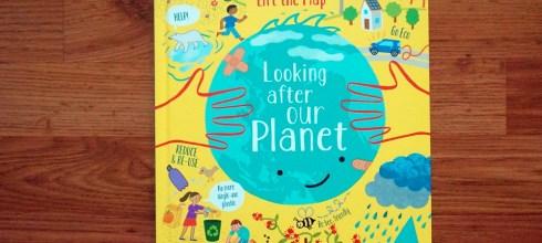 最經典的兒童科普百科翻翻書 Lift the Flap Looking after our planet