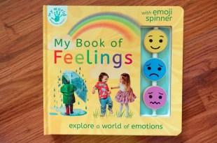 2-5Y適合~蒙特梭利情緒教育書單|My Book of Feelings 真實情緒互動感知書