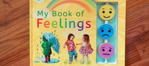 2-5Y適合~蒙特梭利情緒教育書單 My Book of Feelings 真實情緒互動感知書