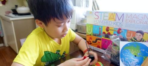 小孩不無聊居家實驗課|4M 科學遊戲組:磁力及電路都好好玩