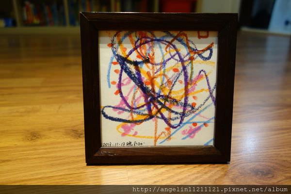 同大爺給媽媽第一份生日禮物~親子勞作 塗鴨的小畫框 - 愛小宜的甜蜜小窩