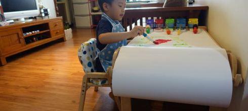 [同大爺私物] 用了2年多●MesaSilla木製自主桌椅●居家閱讀遊戲角必備