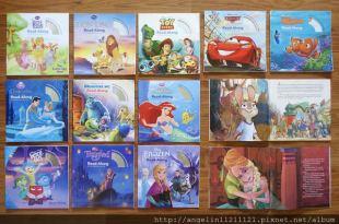 陪同大爺2年多的隨身故事書們●迪士尼有聲CD書-經典電影主題(上)●