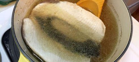 [食譜筆記] ● 好喝虱目魚湯●秘訣就是⋯⋯蒜味橄欖油