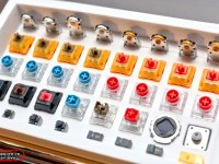 【Computex 2019】TTC 正牌科電 發表TTC防塵金微動,還有矮軸混動軸、光軸等產品