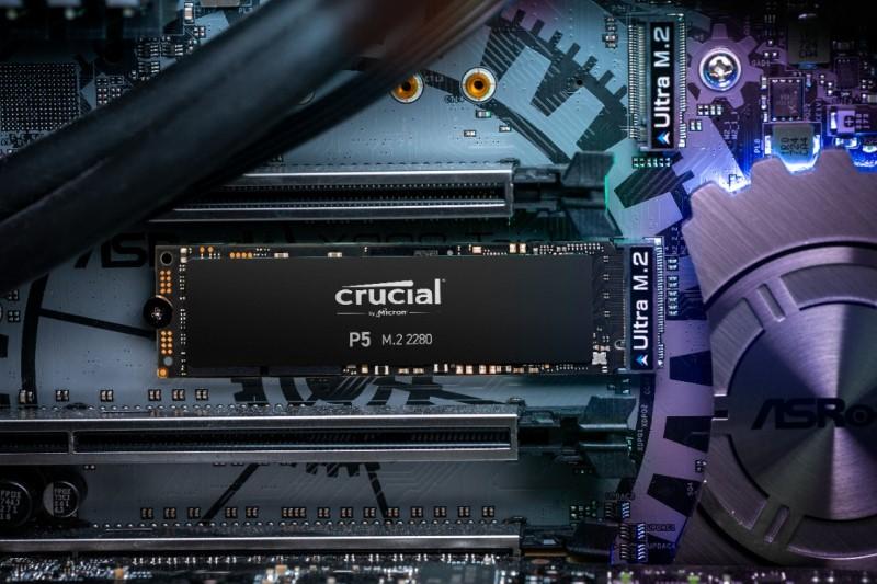 美光Micron 推出全新Crucial P5、Crucial P2 NVMe PCIe SSD,讀取/寫入速度最快達到 3400/3000MB/s