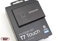 Type-C支援全系統,Samsung Portable SSD T7 Touch 指紋辨識硬碟評測