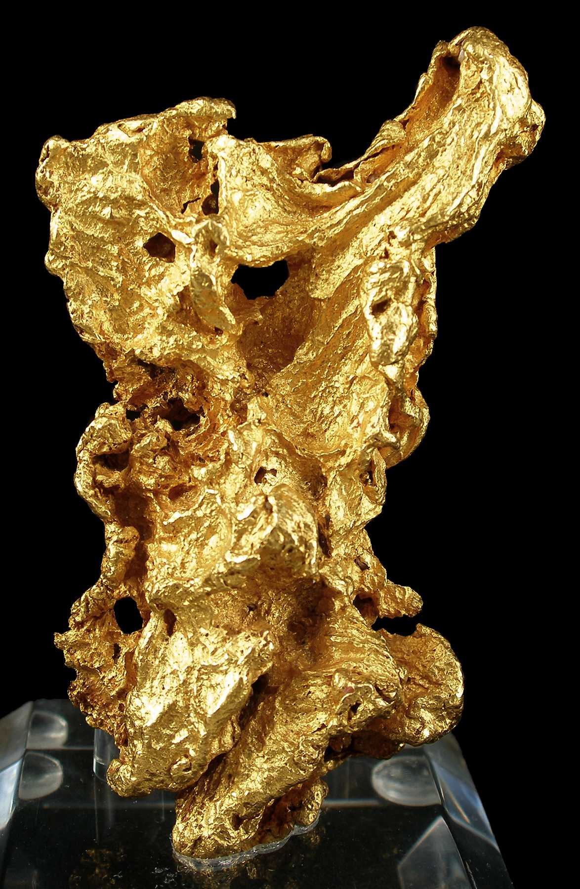 Gold Crystallized Nugget