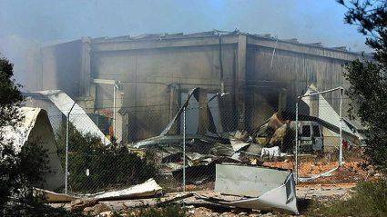 Un herido en una explosión en una empresa pirotécnica en Tarragona