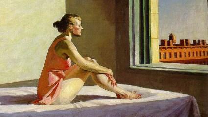 La pintura de Hopper expuesta en el Museo Thyssen de Madrid