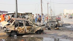 Ver vídeo  'Nueva cadena de atentados sectarios en Irak'