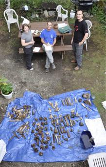 El equipo de investigación ha analizado 846 secuencias de ADN mitrocondrial y 2.996 restos de megafauna