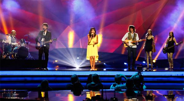 El sueño de Morfeo en el escenario de Eurovisión