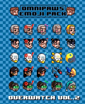 Overwatch Discord Emoji Pack By Omniboy