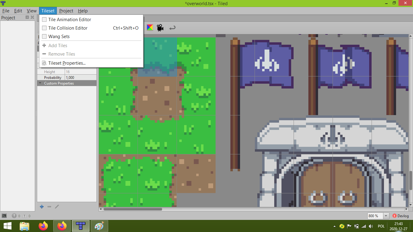 tiled map editor by thorbjorn