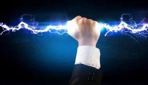 удар с електрически ток