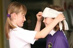 първа помощ при наранявания на лицето