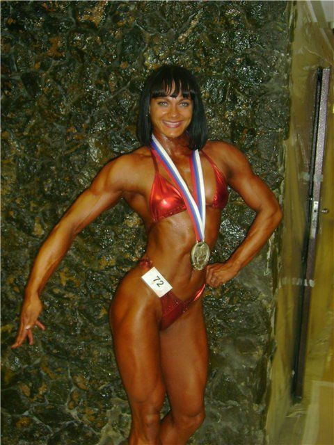 Maria Kuzmina – fitness world's champion (15 pics)