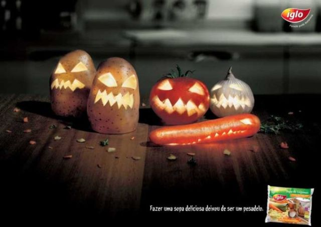 Most Creative Halloween Ads (54 pics)