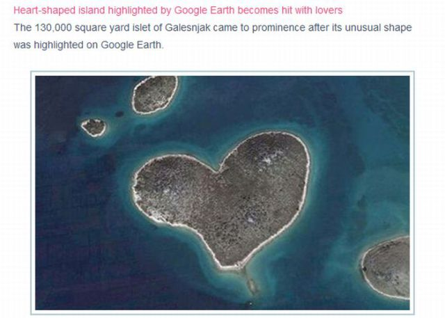 Funny Pictures Google Earth