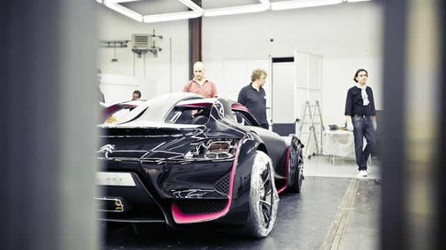 Creating a Citroen Concept Car (13 pics)