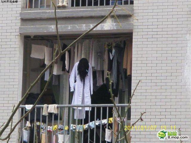 Stylish Horror Laundry Drying
