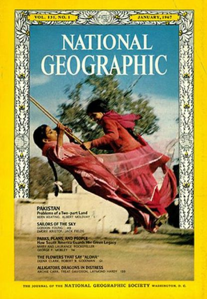 Special National Geographic Magazine Covers