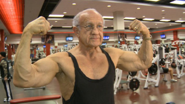 The Most Ripped Grandfather Ever 20 Pics