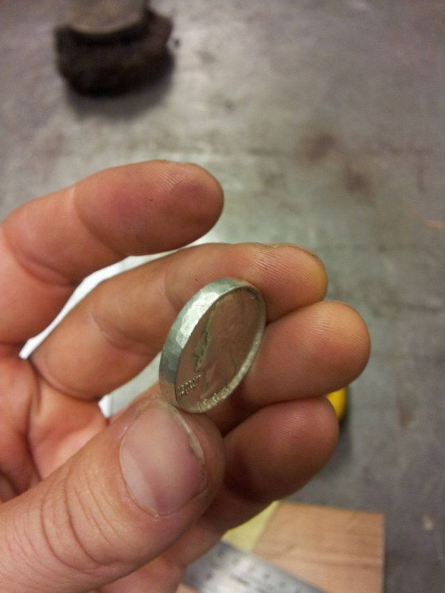 "Unique Hand-Made ""Coin Rings"""