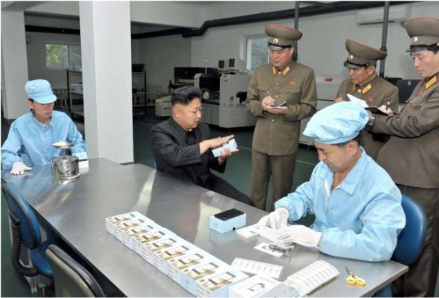 North Korea Launches It's Very Own Smartphone