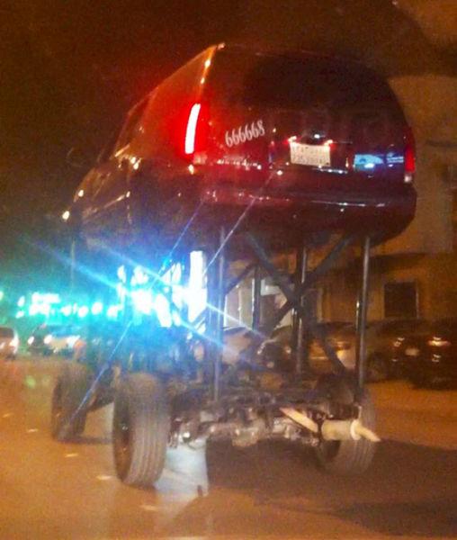 Modifications de voitures Bad qui sont tout simplement stupide et laid