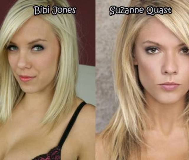 Female Celebrities And Their Pornstar Lookalikes  Pics Picture