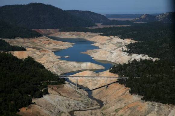 California Has Been Suffering From The Destructive Drought For 5 Years In A Row