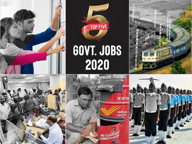 शीर्ष 5 सरकार।  दिन की नौकरियां -10 जून 2021